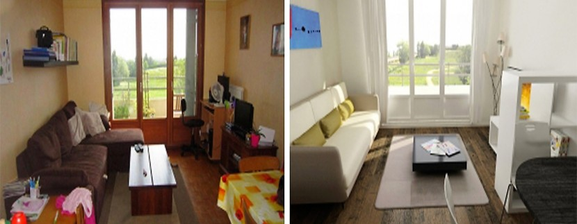 antes despues home staging